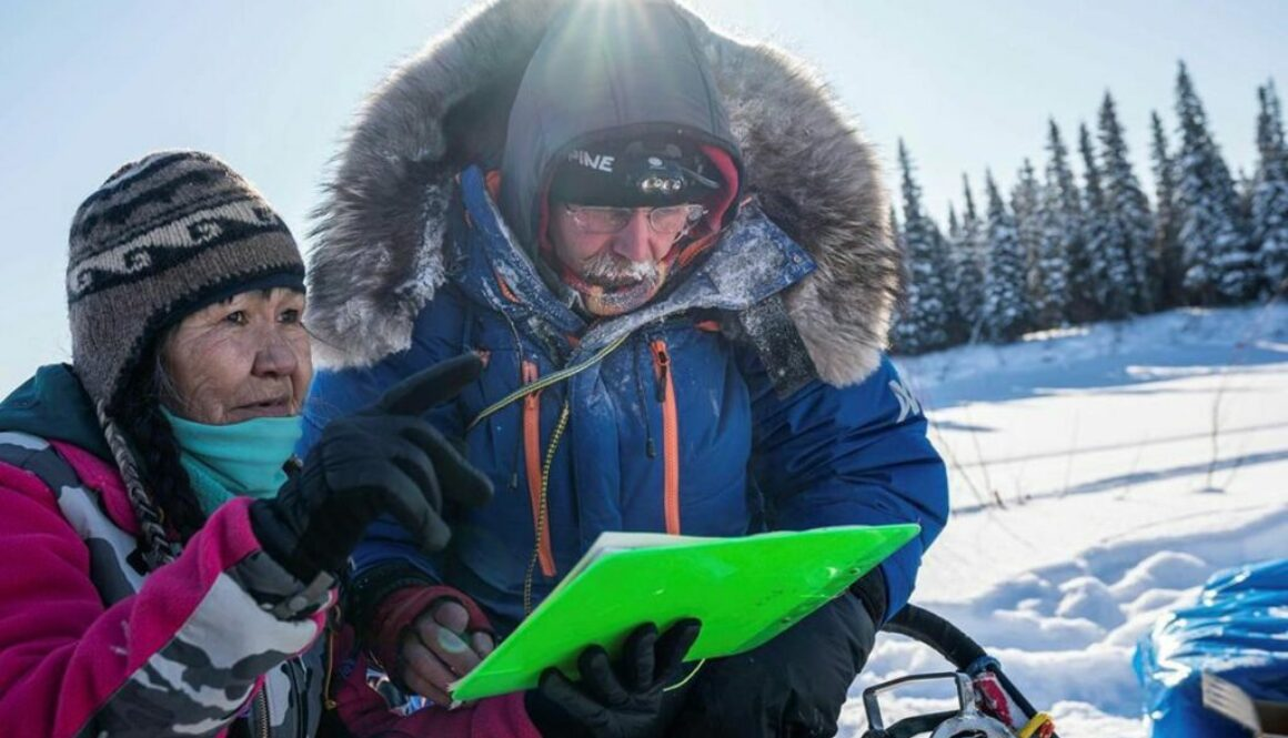Royer feted with beaver musher mitts for Iditarod milestone