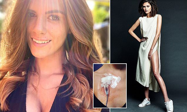 Fashion model, 27, claims CBD has helped her ditch medication for crippling Lyme disease